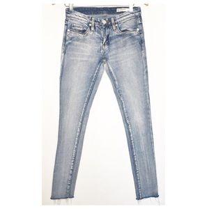Blank NYC Tinder Troll Skinny Cutoff Jeans